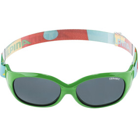 Alpina Sports Flexxy Lunettes Enfant, green-puzzle